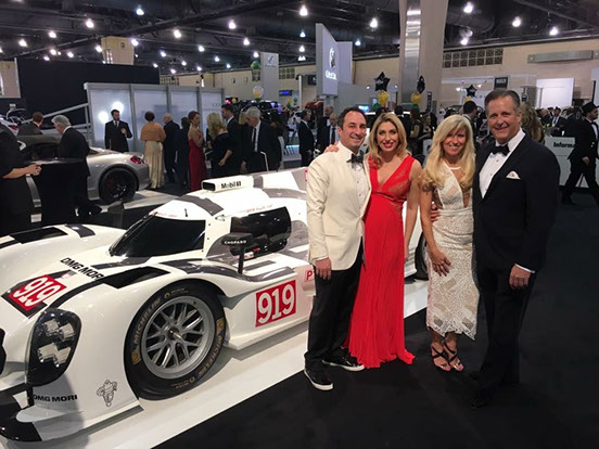 Chris Wolfington CEO - Black tie event philadelphia car show